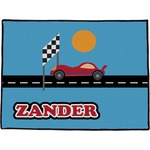 Race Car Door Mat (Personalized)