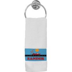 Race Car Hand Towel (Personalized)