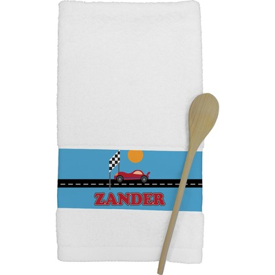 Race Car Kitchen Towel (Personalized)