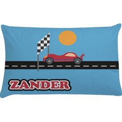 Race Car Pillow Case (Personalized)