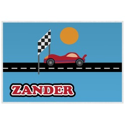 Race Car Placemat (Laminated) (Personalized)