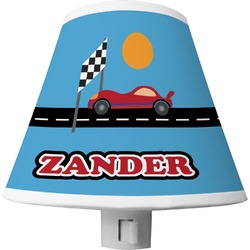 Race Car Shade Night Light (Personalized)