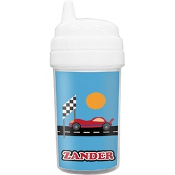 Race Car Toddler Sippy Cup (Personalized)