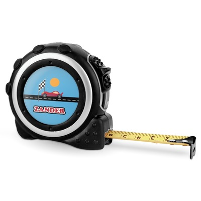 Race Car Tape Measure - 16 Ft (Personalized)