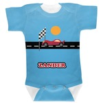 Race Car Baby Bodysuit (Personalized)