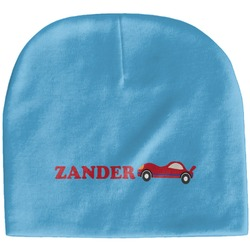 Race Car Baby Hat (Beanie) (Personalized)