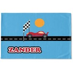 Race Car Woven Mat (Personalized)