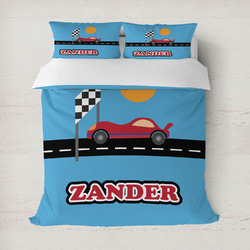 Race Car Duvet Covers (Personalized)