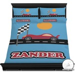 Race Car Duvet Cover Set (Personalized)