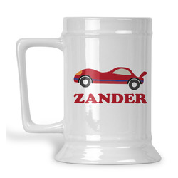Race Car Beer Stein (Personalized)
