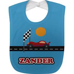 Race Car Baby Bib (Personalized)