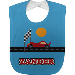 Race Car Baby Bib (Personalized)