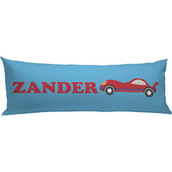 Race Car Body Pillow Case (Personalized)