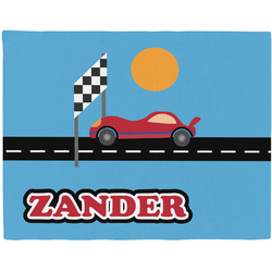Race Car Placemat (Fabric) (Personalized)