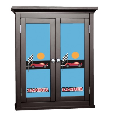 Race Car Cabinet Decal - Custom Size (Personalized)