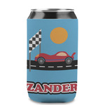 Race Car Can Sleeve (12 oz) (Personalized)