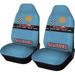 Race Car Car Seat Covers (Set of Two) (Personalized)