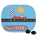 Race Car Car Side Window Sun Shade (Personalized)