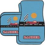 Race Car Car Floor Mats (Personalized)