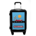 Race Car Carry On Hard Shell Suitcase (Personalized)
