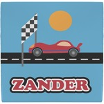 Race Car Ceramic Tile Hot Pad (Personalized)