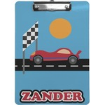 Race Car Clipboard (Personalized)