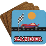 Race Car Coaster Set (Personalized)