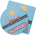 Race Car Rubber Backed Coaster (Personalized)