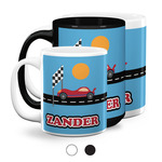 Race Car Coffee Mugs (Personalized)