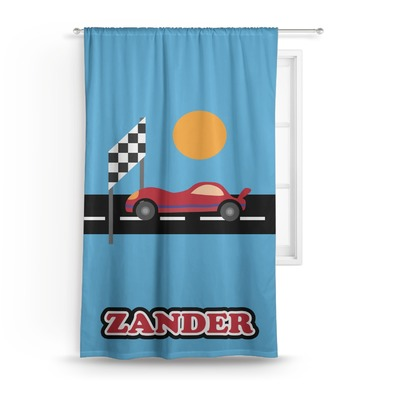 Race Car Curtain (Personalized)