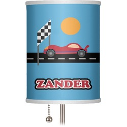 "Race Car 7"" Drum Lamp Shade (Personalized)"