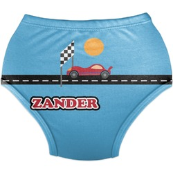 Race Car Diaper Cover (Personalized)