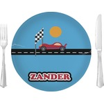 Race Car Glass Lunch / Dinner Plates 10