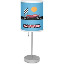 "Race Car 7"" Drum Lamp with Shade (Personalized)"