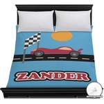 Race Car Duvet Cover (Personalized)