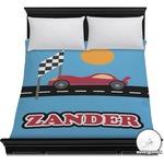 Race Car Duvet Cover (Personalized)
