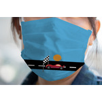 Race Car Face Mask Cover (Personalized)