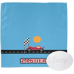 Race Car Wash Cloth (Personalized)