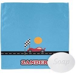 Race Car Washcloth (Personalized)