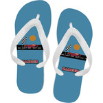 Race Car Flip Flops (Personalized)
