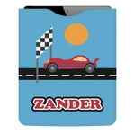 Race Car Genuine Leather iPad Sleeve (Personalized)