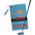 Race Car Golf Towel Gift Set (Personalized)