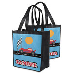 Race Car Grocery Bag (Personalized)