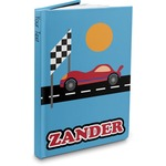 Race Car Hardbound Journal (Personalized)