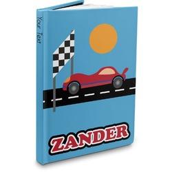 Race Car Hardbound Journal (Personalized)