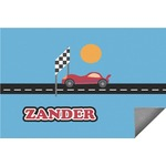Race Car Indoor / Outdoor Rug (Personalized)