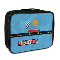 Race Car Insulated Lunch Bag (Personalized)