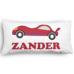 Race Car Pillow Case - King - Graphic (Personalized)