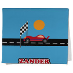 Race Car Kitchen Towel - Full Print (Personalized)