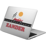 Race Car Laptop Decal (Personalized)
